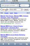 iPhone SEO before SEO It! Bookmarklet
